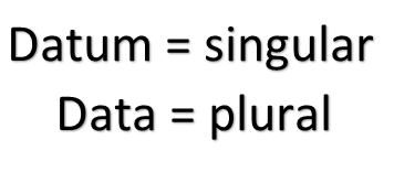 "Is ""Data"" a Singular or a Plural Noun?"