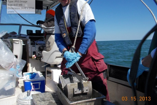 Maintenance of Wilmington Harbor, MPRSA Section 103 Sediment Testing and Analysis, Wilmington, North Carolina_pic4.JPG