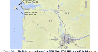 Data Review, Trends Assessment, and Site Management and Monitoring Plan for the Mouth of the Columbia River (MCR) ODMDS, Oregons