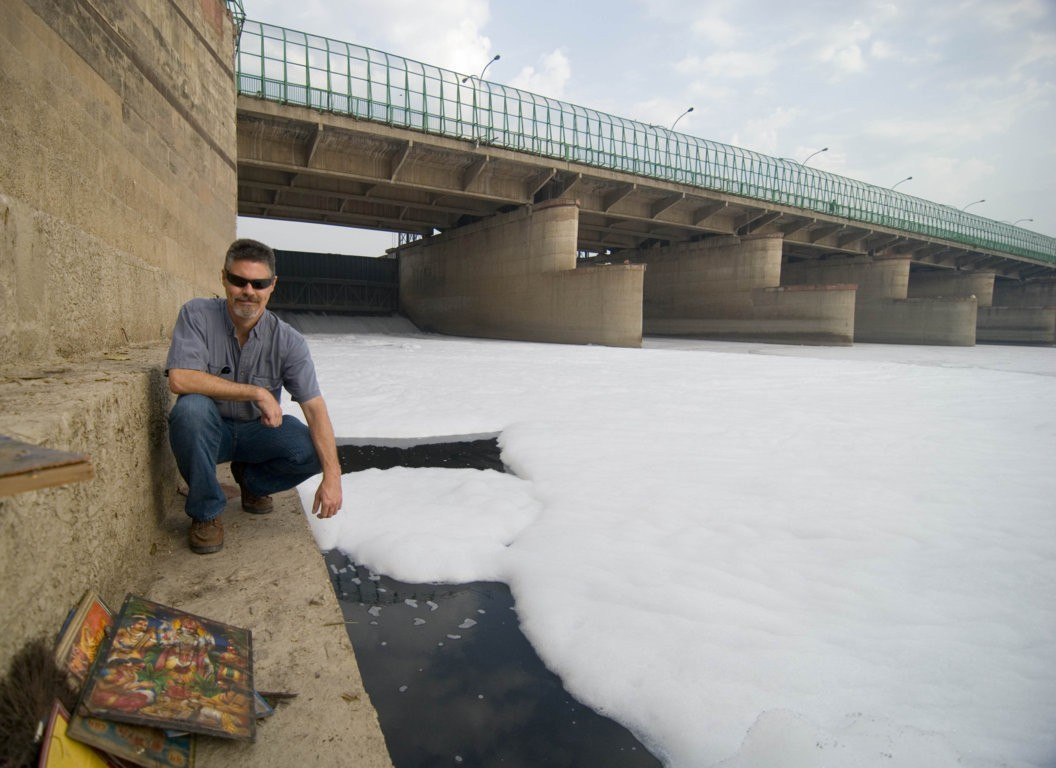 The Yamuna River – Pollution So Thick You Can See It From Space