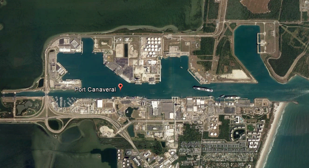 Port Canaveral Google Map FILEminimizer