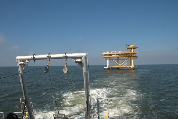 EVALUATION OF DREDGED MATERIAL, GULF COAST INTRACOASTAL WATERWAY (GIWW), FLORIDA_pic2.JPG