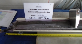 Sediment Characterization:  Cathlamet Side Channel (Tongue Point), Lower Columbia River, Clatsop County, OR