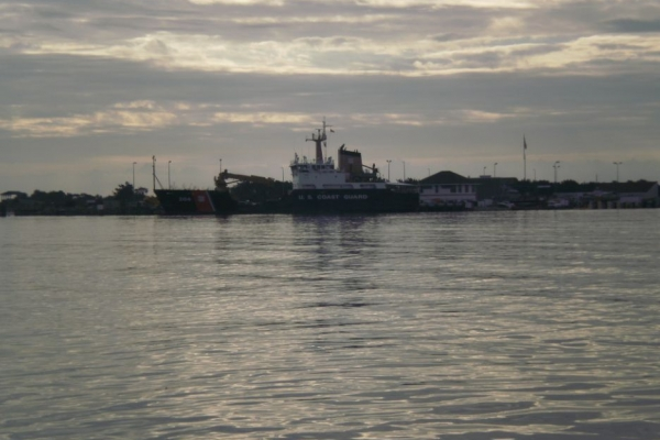 Confirmatory Evaluation of Dredged Material Proposed for Ocean Disposal, USCG Station Fort Macon, Morehead City, North Carolina_pic3.JPG